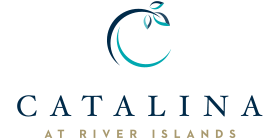 Logo for the Catalina at River Islands community
