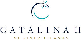 Logo for the Catalina II at River Islands community
