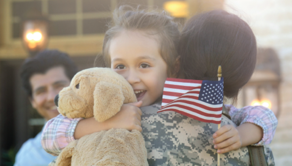 We Love Our Military Families!